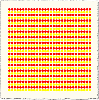 Alternate yellow rows