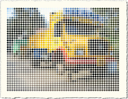 Truck with 50 pixel width