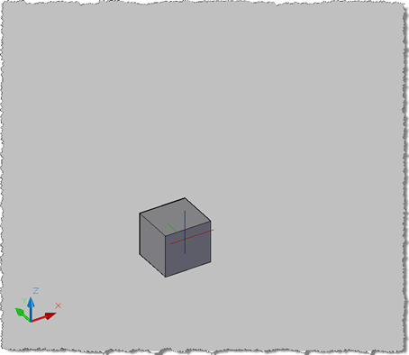 Jigging a box with a conceptual visual style