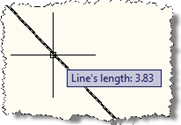 PointMonitor tooltip over a single line