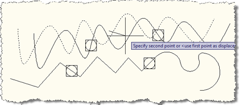Moving the spline with its points