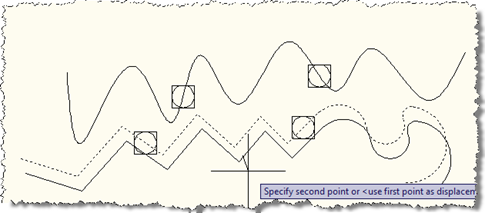 Moving the polyline without its points
