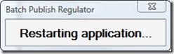 Restarting AutoCAD