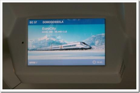 EuroCity to Milano