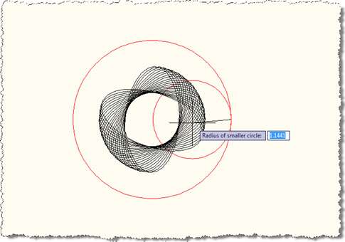 Defining our inner radius (larger)