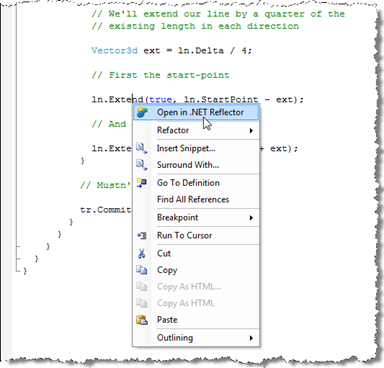 Launching Reflector directly from Visual Studio