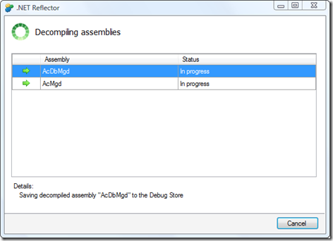 Decompiling AutoCAD's assemblies