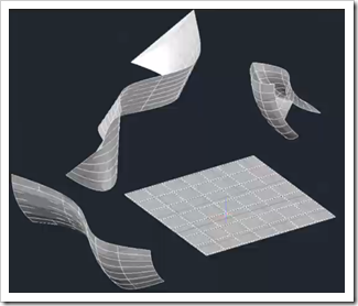 Nurbs surfaces in AutoCAD 2011