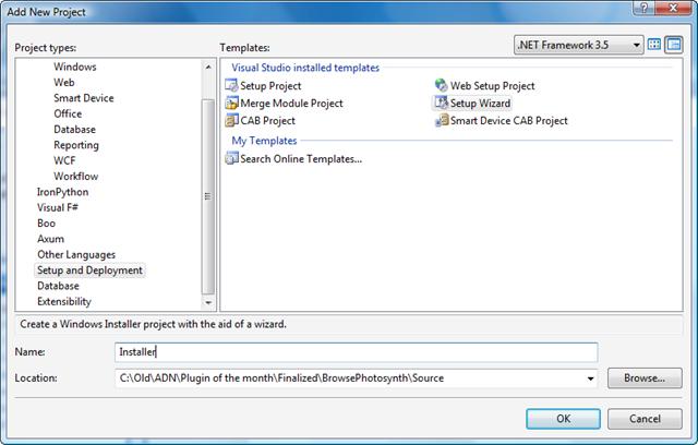 Building an Installer Part 1 - Through the Interface