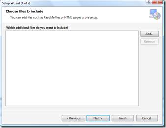 Additonal files to include