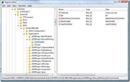Our demand-loading Registry keys
