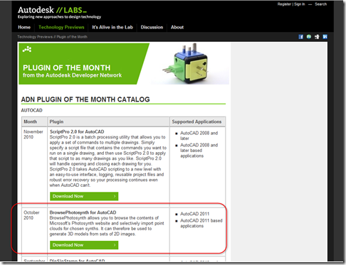 Plugin of the Month catalog on Labs