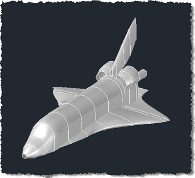 Our space shuttle shell