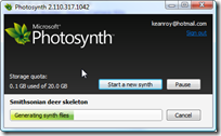 Generating synth files
