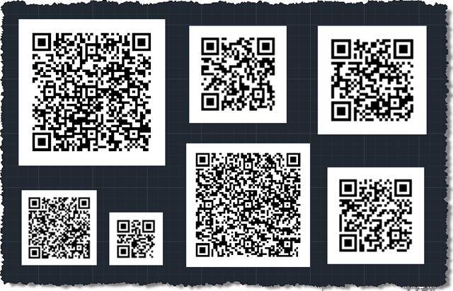 More fun with QR Codes: encoding different types of data