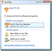 Eye-Fi AutoPlay