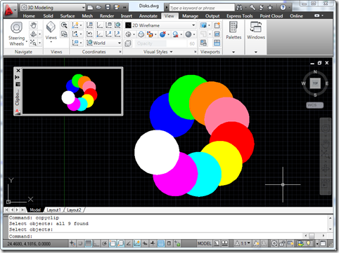 Palette with clipboard preview