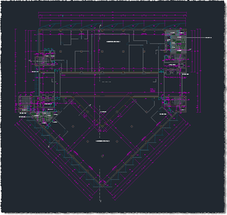 HVAC Architectural drawing