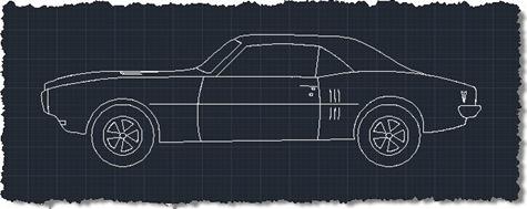 Sports car sample dynamic block