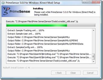 Installing KinectSensor 2