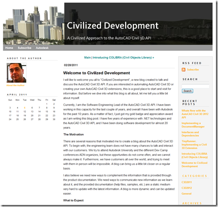Civilized Development