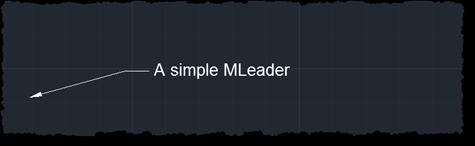 A simple MLeader