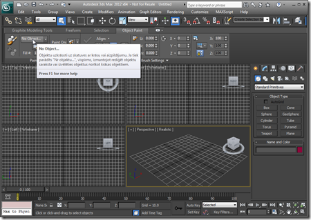 TransTips working in 3ds Max