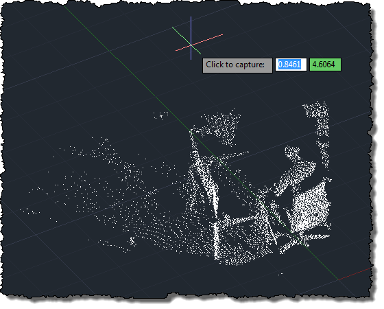 Using the Microsoft Kinect SDK to bring a basic point cloud