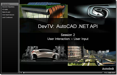 AutoCAD .NET DevTV - Session 2