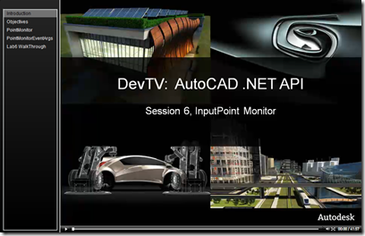 AutoCAD .NET DevTV - Session 6