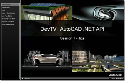 AutoCAD .NET DevTV - Session 7