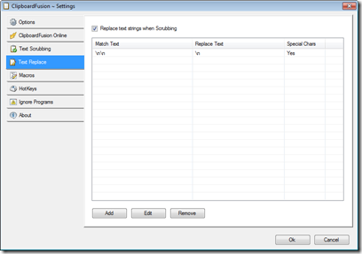 ClipboardFusion Settings
