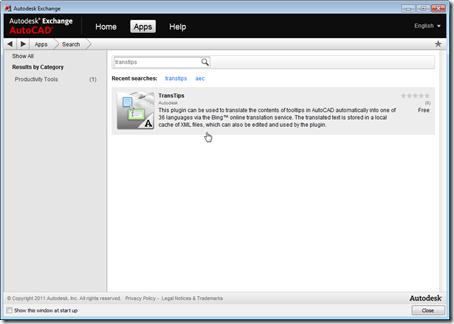 TransTips live on Autodesk Exchange