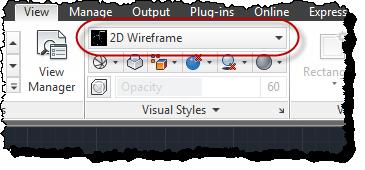 Default visual style setting