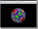 Apollonian Viewer web-page in Safari on iPad