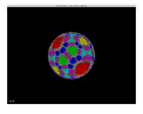 First pass Apollonian Viewer on iOS