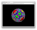 Apollonian Viewer web-page in Chrome on Mac