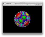 Apollonian Viewer web-page in Firefox on Mac