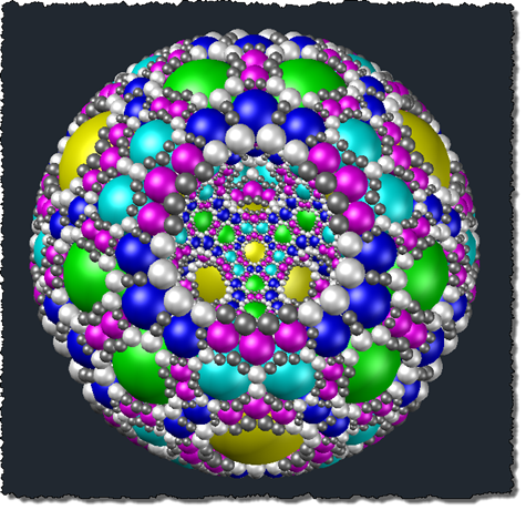 And with the layer with the four primary internal spheres turned off