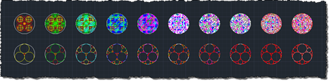 Apollonian gaskets and packings of all levels