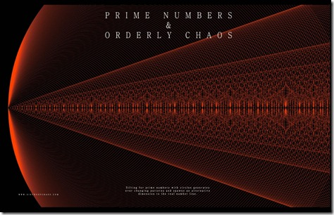 Prime numbers and orderly chaos