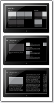Grid View project template
