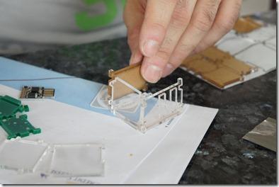 Building the laser-cut cases