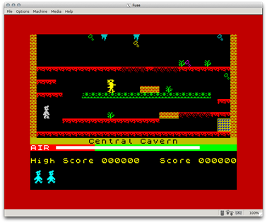 Manis Minor on the ZX Spectrum via Fuse