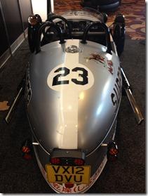 Morgan 3 Wheeler - really from rear