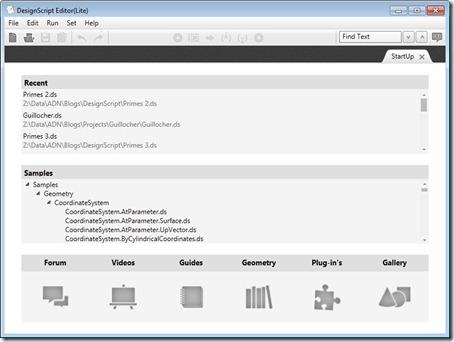 DesignScript Editor - Lite