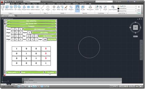 Transformer app in AutoCAD 2014