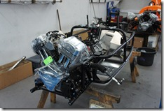 A 3 wheeler chassis, ready to be built around