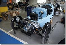 A pale blue M3W