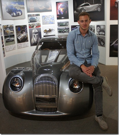 Jon Wells at Morgan Motor Company